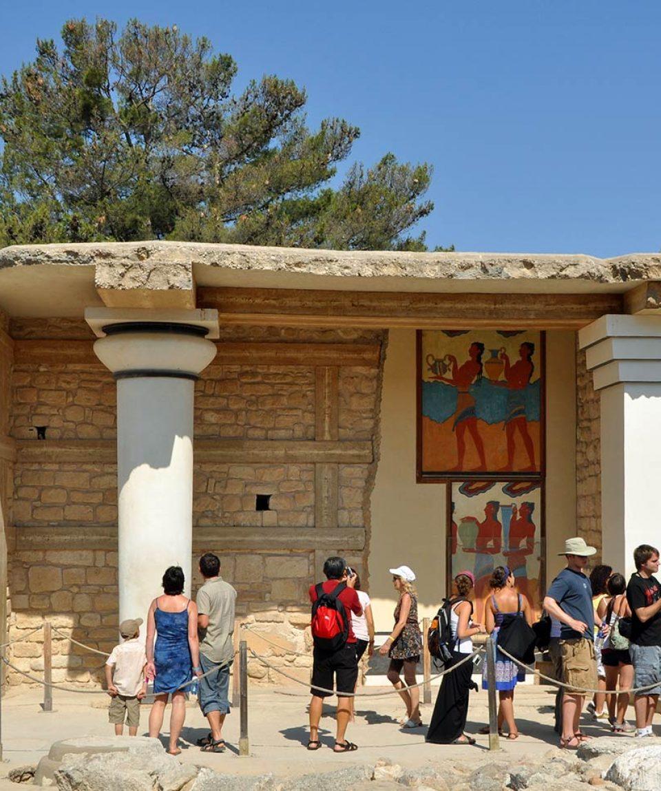 Knossos-Frescoes
