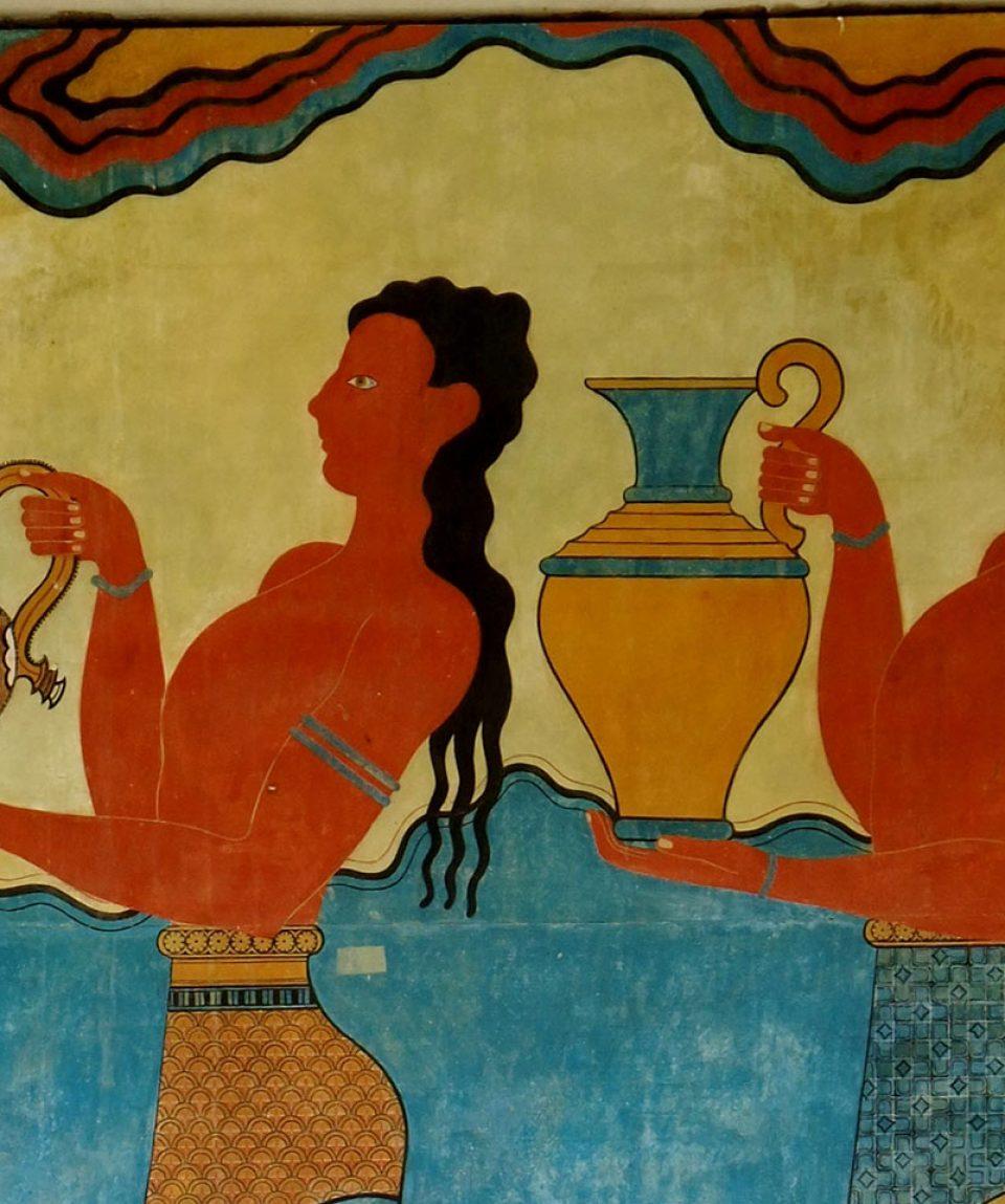 Knossos-Procession-Frescoe