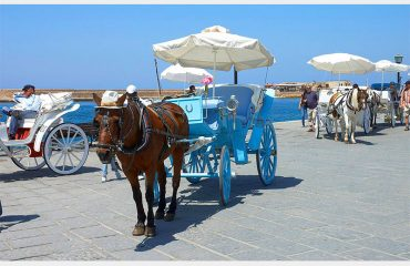 Chania-horse-and-carriage