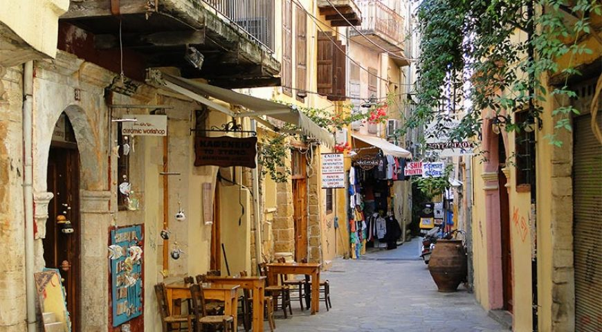 Chania-town-alley