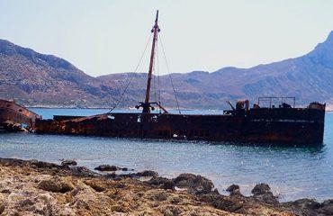 Gramvousa-Shipwreck