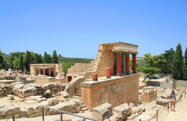 Knossos-Palace-ruins