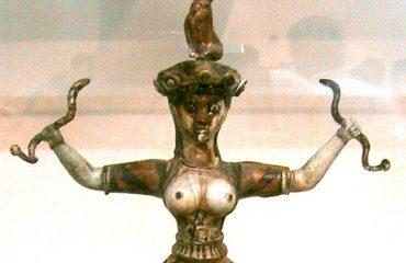 Snake-Godess