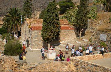 Spinalonga-church