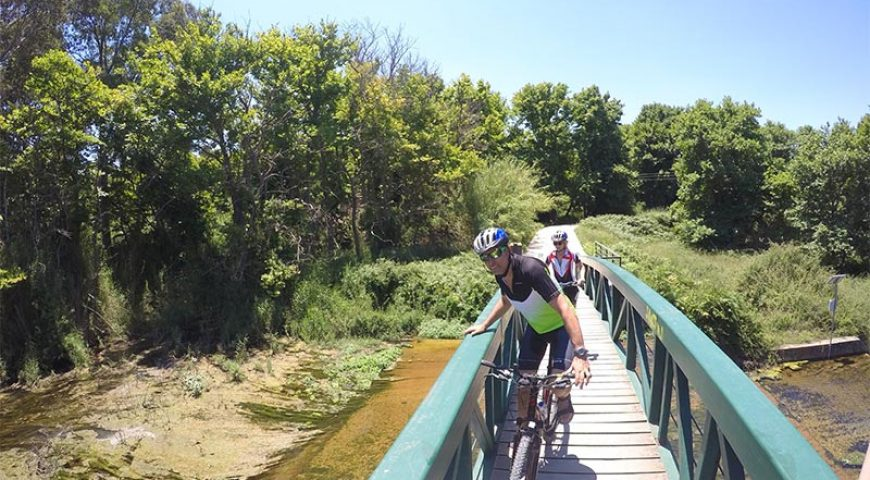 Cycling-Narrow-Bridge