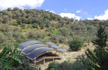 Eleftherna-Necropolis-roof