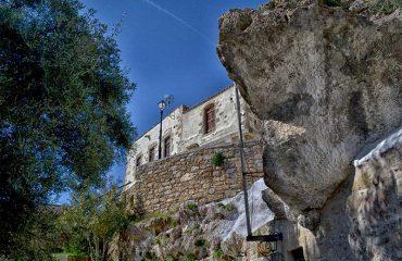 Rock--cut-chapel